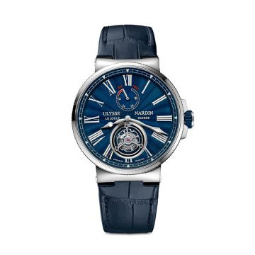 Ulysse Nardin Marine Tourbillon Stainless Steel 43mm Watch