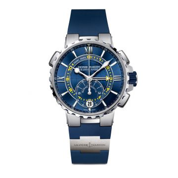 Ulysse Nardin Marine Regatta Stainless Steel 44mm Watch