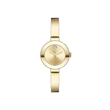 Movado Bold Stainless Steel Bangle Style Women's Watch