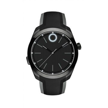 Movado Bold Black PVD-Finished Stainless Steel Men's Motion Smart Watch With Bluetooth¨