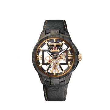 Ulysse Nardin Executive Carbonium Gold 43mm Watch