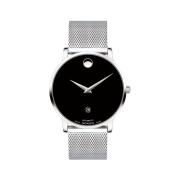 Movado Stainless Steel Museum Classic  Automatic Mens Watch