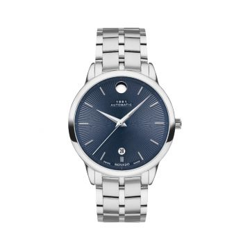 Movado Stainless Steel 1881 Automatic  Mens Watch