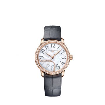 Ulysse Nardin Classico Jade 18k Rose Gold 30mm Watch