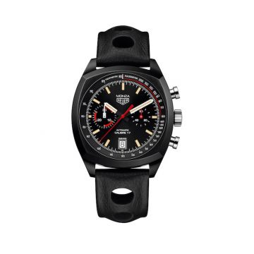 TAG Heuer Monza Calibre 17 Automatic Black Titanium 42mm Watch