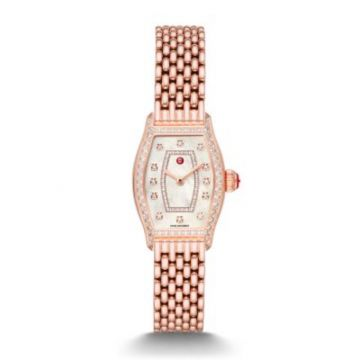 Michele Special-Edition Coquette Pink Gold Diamond Watch