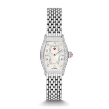 Michele Special-Edition Coquette Stainless Diamond Watch