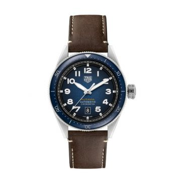 Tag Heuer Autavia Automatic Strap Brown 42 mm Watch
