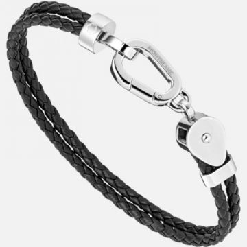 Montblanc Wrap Me Bracelet Duo Leather And Steel