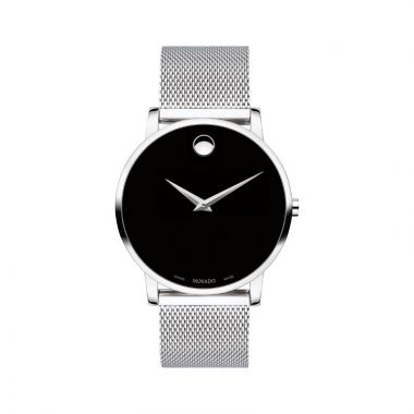 Movado Museum Clasic Mens Stainles Steel Watch