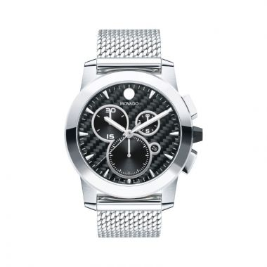 Movado Vizio Mens Stainles Steel Watch