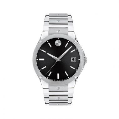 Movado S.E. Mens Stainles Steel Watch