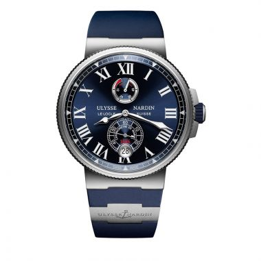 Ulysse Nardin Marine Chronometer Stainless Steel 45mm Watch