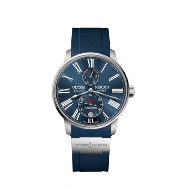 Ulysse Nardin Marine Torpilleur Chronometer Stainless Steel 42mm Watch