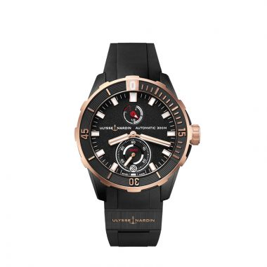 Ulysse Nardin Diver Chronometer Titanium and 18k Rose Gold 44mm Watch