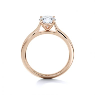 Sasha Primak Thin Contoured Cathedral 4-Prong Solitaire