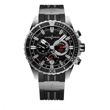 Ulysse Nardin Diver Chronograph Stainless Steel 44mm Watch