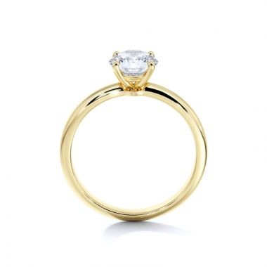 Sasha Primak Classic Rounded 4-Prong Solitaire