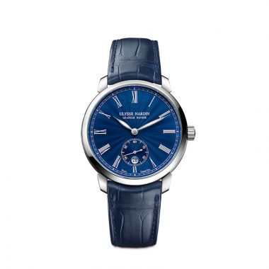 Ulysse Nardin Classico Manufacture Stainless Steel 40mm Watch