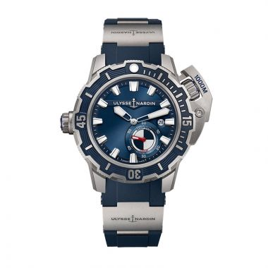 Ulysse Nardin Diver Deep Dive Titanium 46mm Watch