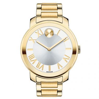Movado Stainless Steel Bold Luxe Watch