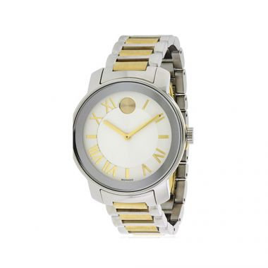 Movado Bold Two Tone Stainless Steel Men's Watch