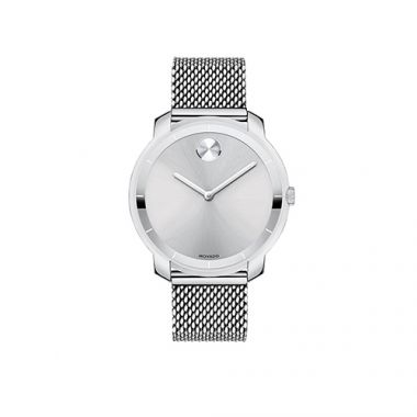 Mid-size Movado Bold Stainless Steel Men's Watch