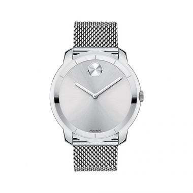 Large Movado Bold Stainless Steel Men's Watch
