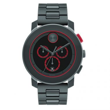 Movado Stainless Steel Bold Chronograph Watch