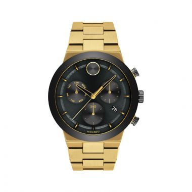 Movado Stainless Steel Bold Fusion Mens Watch