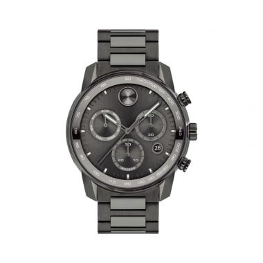 Movado Stainless Steel Bold Verso Mens Watch