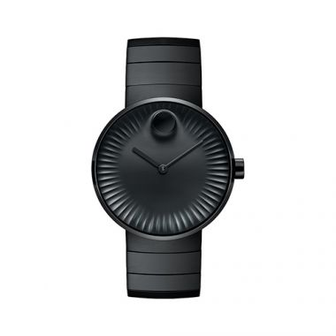 Movado Edge Black PVD-finished Stainless Steel Men's Watch