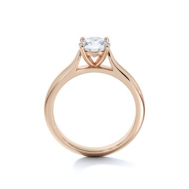 Sasha Primak Contoured Cathedral 4-Prong Solitaire