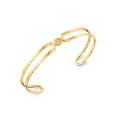 Michael M 14k Yellow Gold Diamond Bracelet
