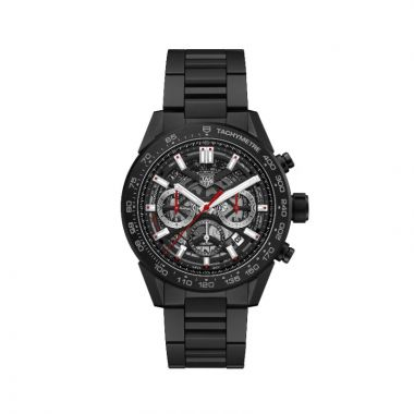 Tag Heuer Carrera Automatic Ceramic Black 45mm Watch
