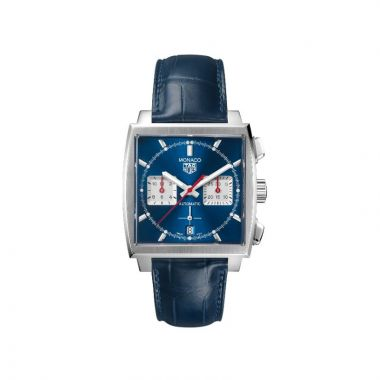 Tag Heuer Monaco Automatic Strap Blue 40mm Watch