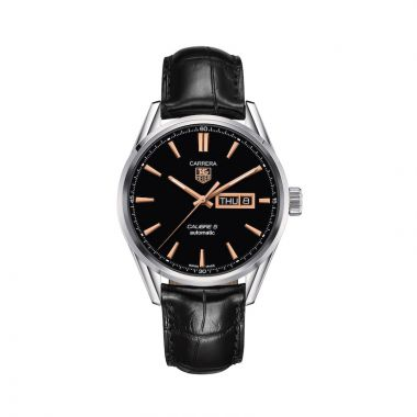 TAG Heuer Carrera Calibre 5 Automatic Steel 41mm Watch