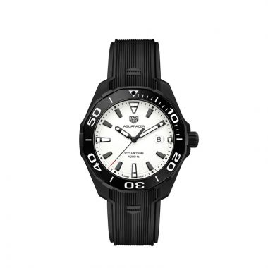 TAG Heuer Aquaracer Quartz Black Titanium Watch