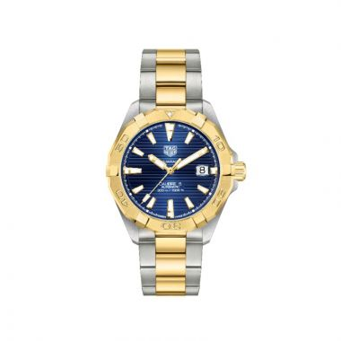 Tag Heuer Aquaracer Automatic Stainless Steel & 18k Yellow Gold 41mm Watch